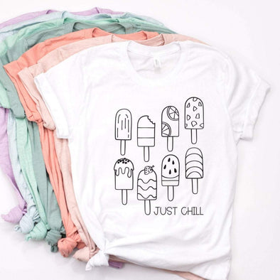 Just Chill Popsicles - Tee