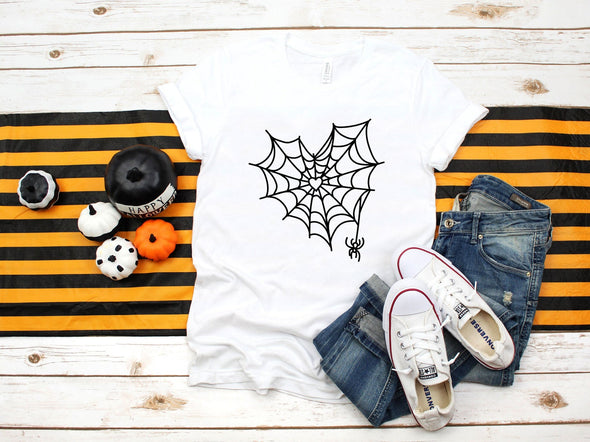 Spider Web With Heart - Tee