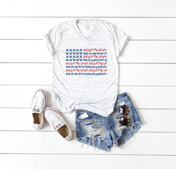 Red, White and Blue  - Tee
