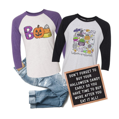 Halloween Is My Favorite - Raglan