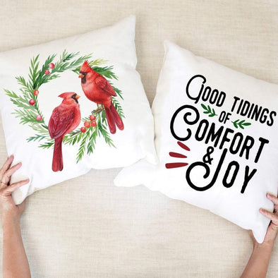 Good Tidings of Comfort and Joy - Pillow