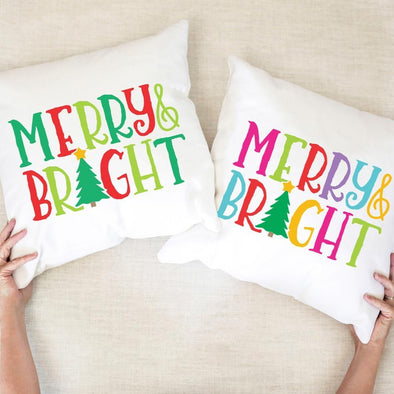 Merry & Bright - Pillow