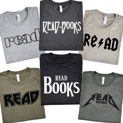 Rock And Read Books - Tee