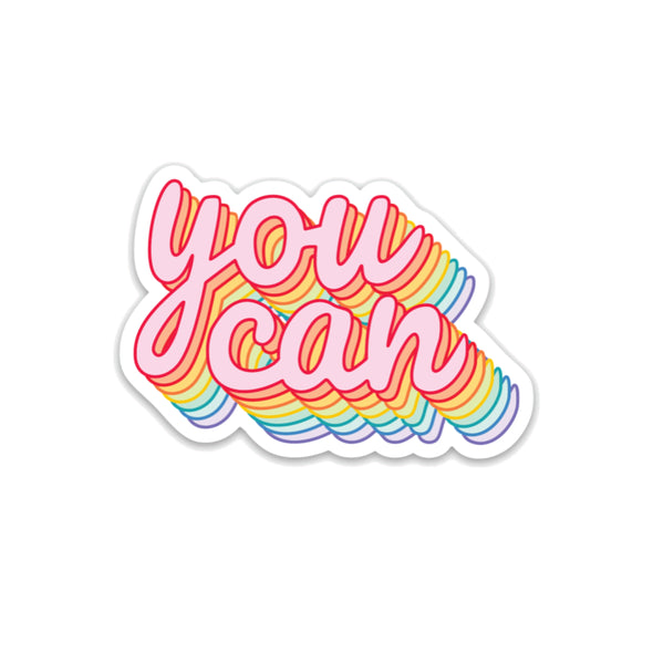 You Can Sticker - Sticker
