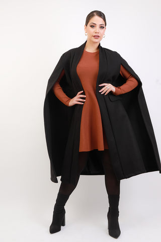 CAPE MANTEAU BLACKY