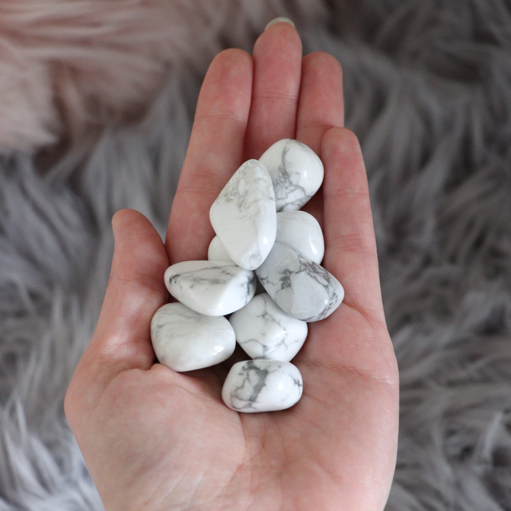White Howlite | Tumbled