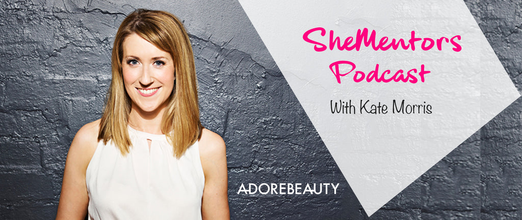 Podcast: How Kate Morris built Adorebeauty.com.au