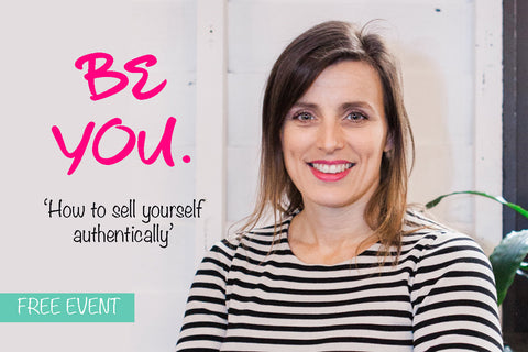 Pitch Perfect: How to sell yourself authentically - 9th May