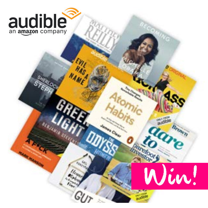 February Goal Setting: Win A 6-month Audible Membership