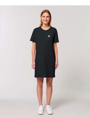 Crown T-shirt dress