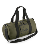 Khaki Barrel Bag