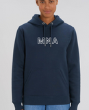 Small 3D Navy Hoody