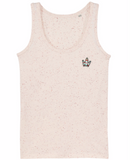 Speckle Manderine  crown Vest