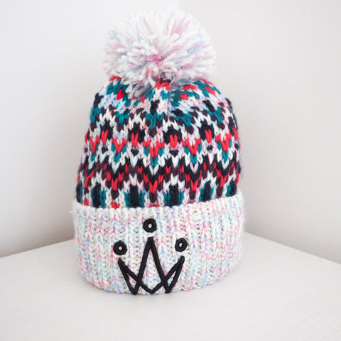 Multi Bomb Bobble Hat