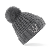 Silver Fox bobble Hat