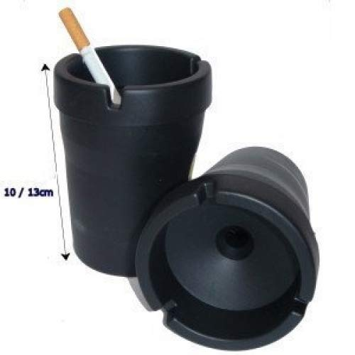 Butt Bucket Cigarette Snuffers - Black (Box of 12) - The Dab Shack