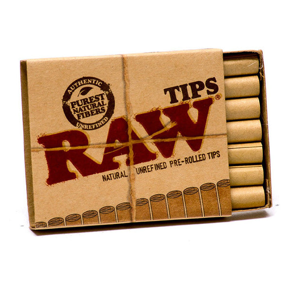 Raw Pre-Rolled Tips (Box of 20) - The Dab Shack
