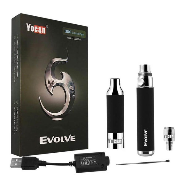 Yocan Evolve Vape (3 in 1 Kit) - The Dab Shack