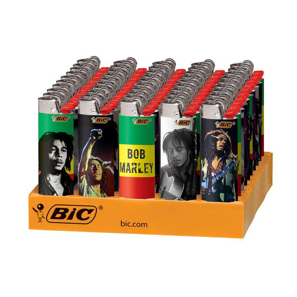 BiC Bob Marley Lighters (Box of 50) - The Dab Shack