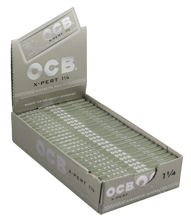OCB X-Pert 1 1/4 Rolling Paper (Box of 25 Booklets) - The Dab Shack