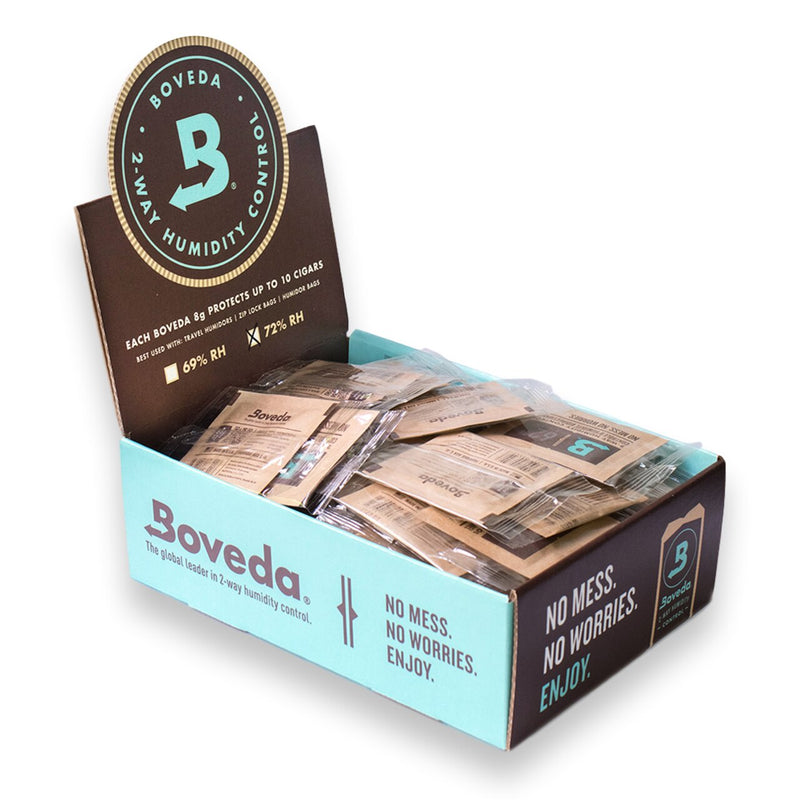 Boveda - Tobacco Humidity Control (8g x 100) - The Dab Shack