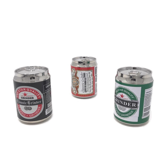 Grinder 4-Part Triangle Teeth Beer Can (Box of 6) - DabShack Distribution