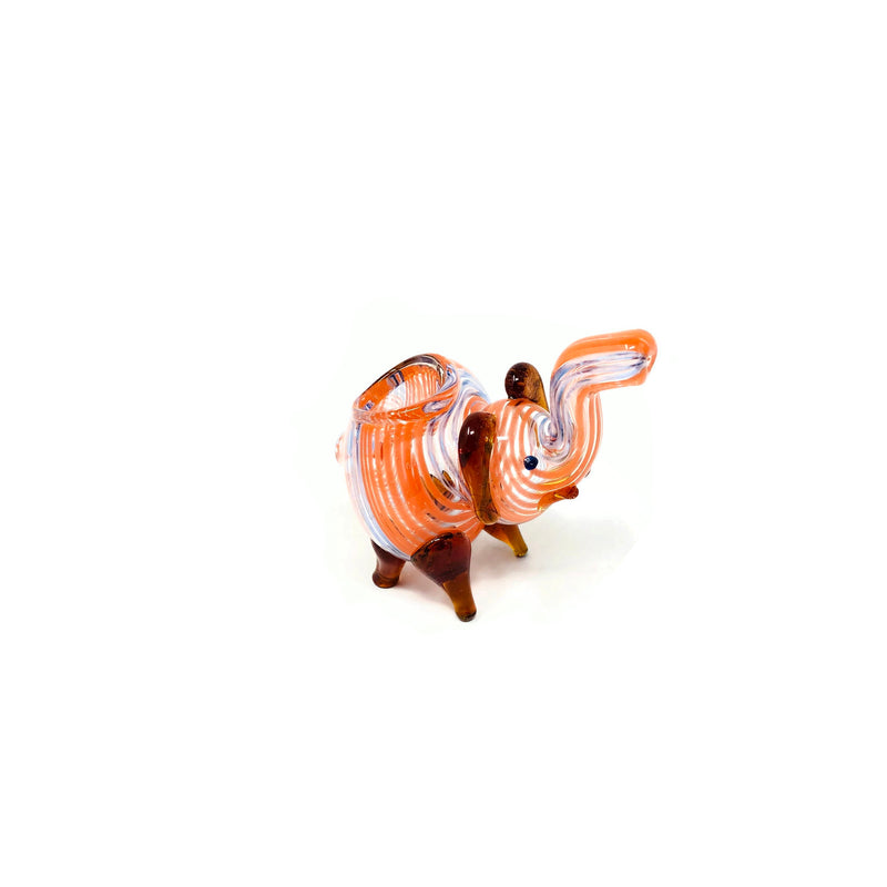 Elephant Glass Hand Pipe - The Dab Shack