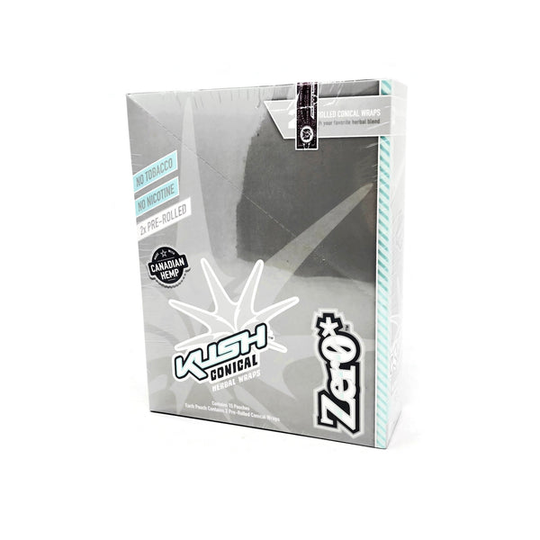 Kush -  Conical Zero Herbal Wraps (Box of 15) - The Dab Shack