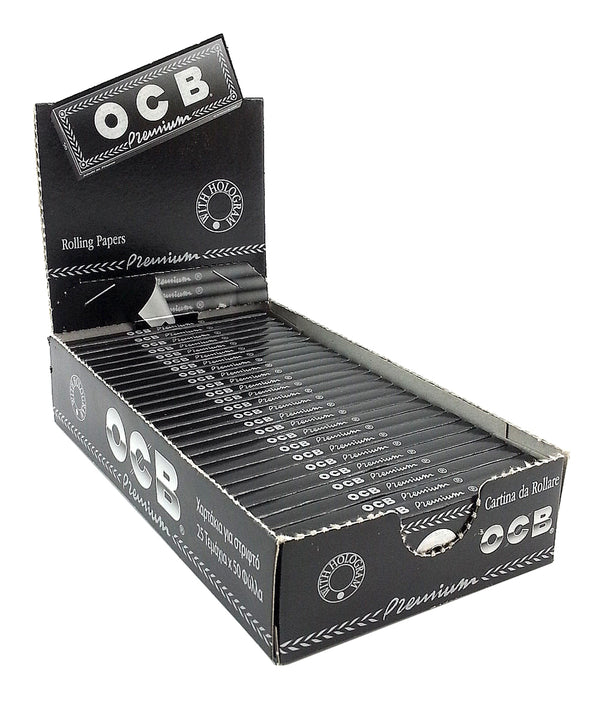 OCB Premium 1 1/4 Rolling Paper (Box of 25 Booklets) - The Dab Shack