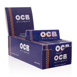 OCB Ultimate 1 1/4 + Filters Rolling Paper (Box of 25 Booklets, 25 Filters) - The Dab Shack