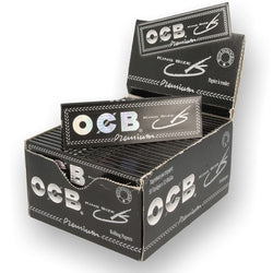 OCB Premium King Size Rolling Paper (Box of 50 Booklets) - The Dab Shack
