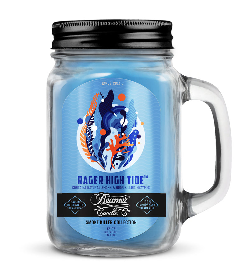 Beamer Candle Smoke Killer Collection - Rager High Tide - The Dab Shack