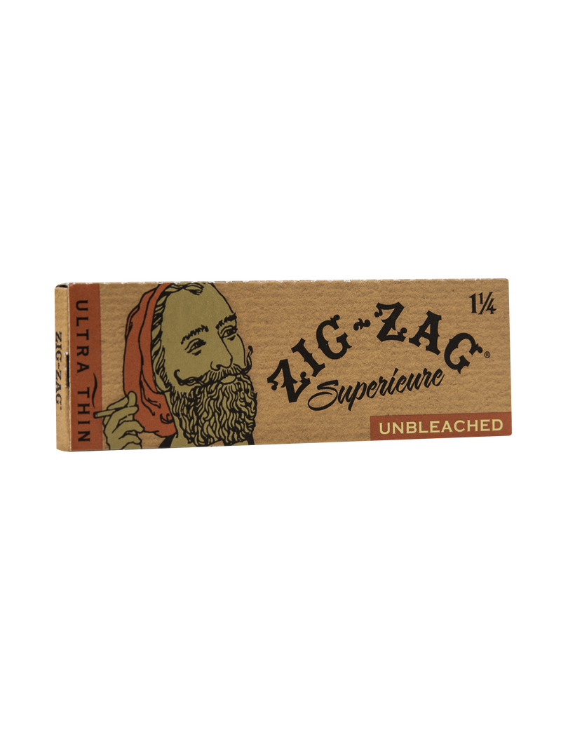 Zig-Zag 1 1/4 Unbleached (Box of 24) - The Dab Shack