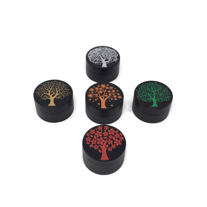 Grinder 3-Part Diamond Teeth Tree Small (Box of 12) - DabShack Distribution