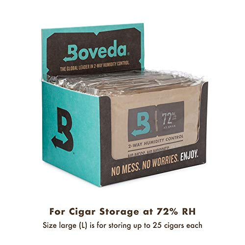 Boveda - Tobacco Humidity Control (60g x 12) - DabShack Distribution