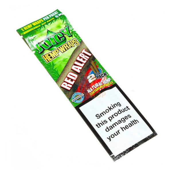 Juicy Jay's Red Alert Hemp Wraps (Box of 25) - The Dab Shack