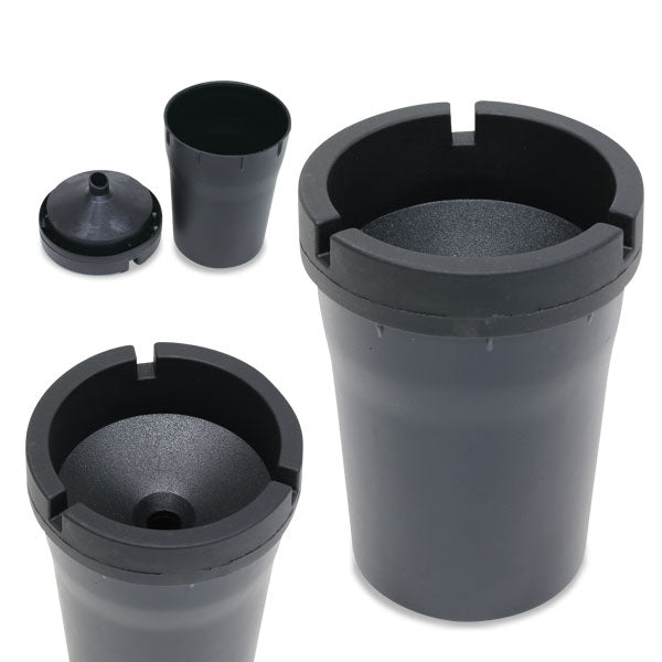 Butt Bucket Cigarette Snuffers - Black (Box of 12) - DabShack Distribution
