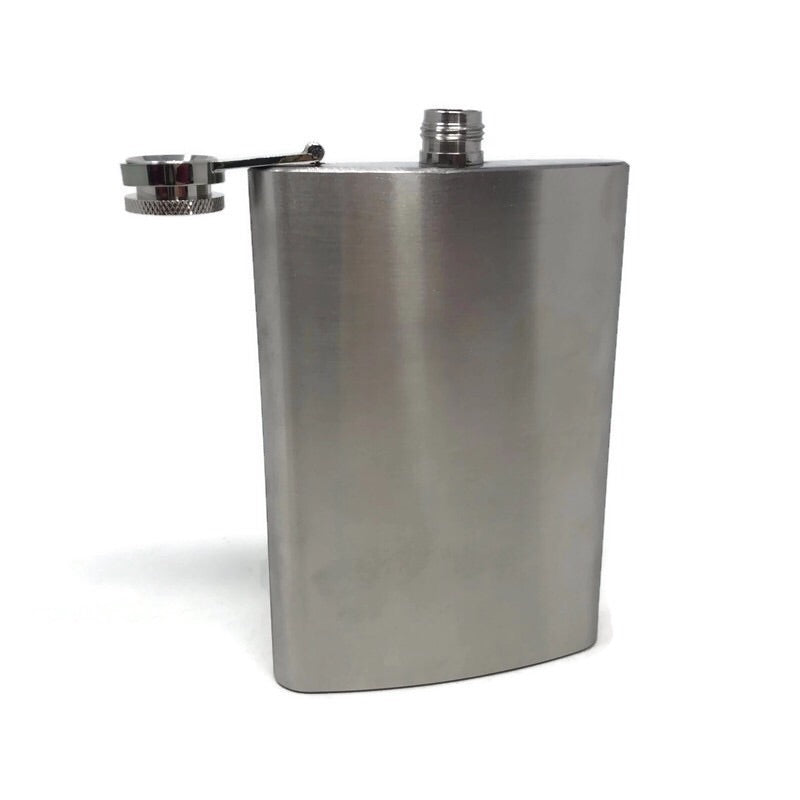 Stainless Steel Hip Flask - DabShack Distribution