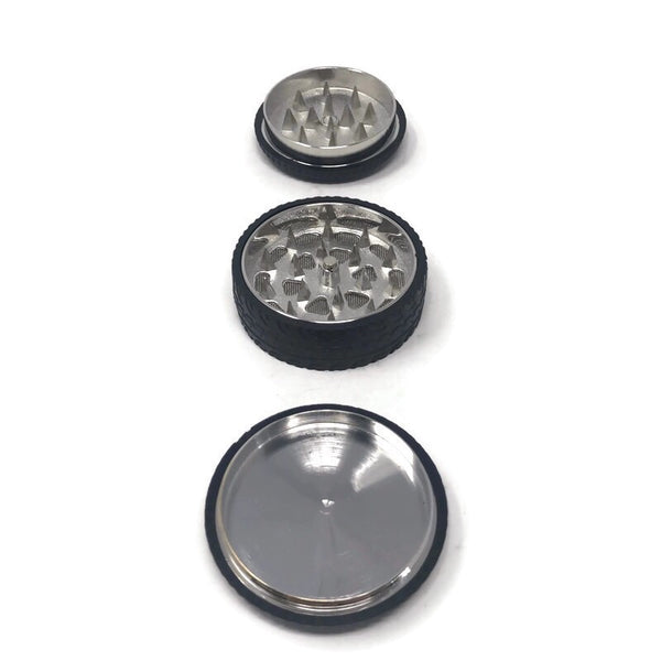 Grinder 3-Part Diamond Teeth Tires (Box of 12) - The Dab Shack