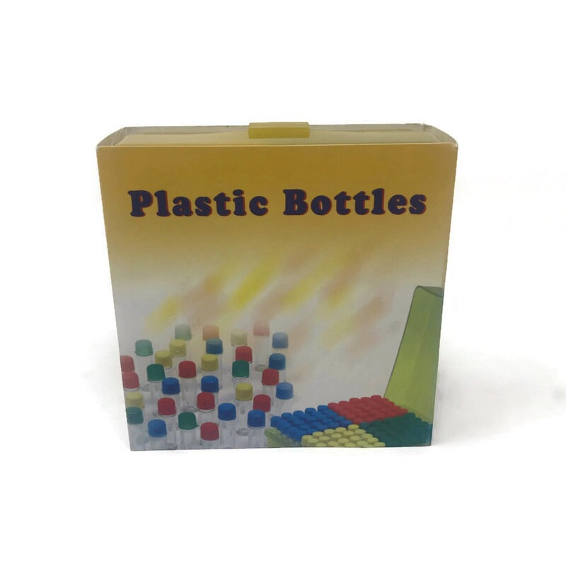 Mini Plastic Bottles - 2.5 Grams Vials (Box of 100) - The Dab Shack