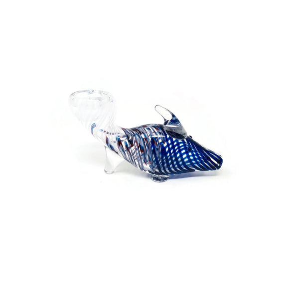 Fish Glass Hand Pipe - The Dab Shack