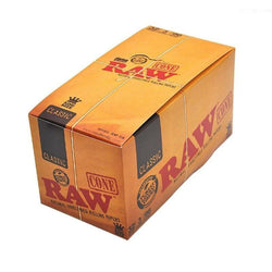 Raw Classic King Size Cones (Box of 32 Packs) - The Dab Shack