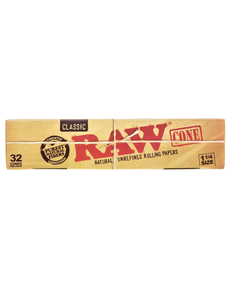 Raw Classic 1 1/4 Cones (Pack of 32 Cones) - The Dab Shack