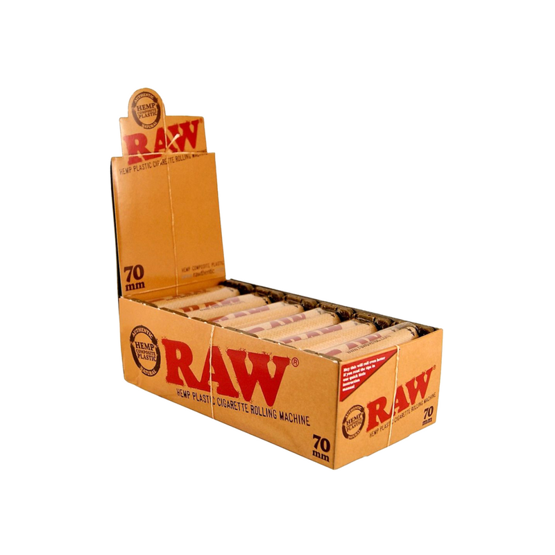 Raw Rolling Machine (Box of 12) 70mm - DabShack Distribution