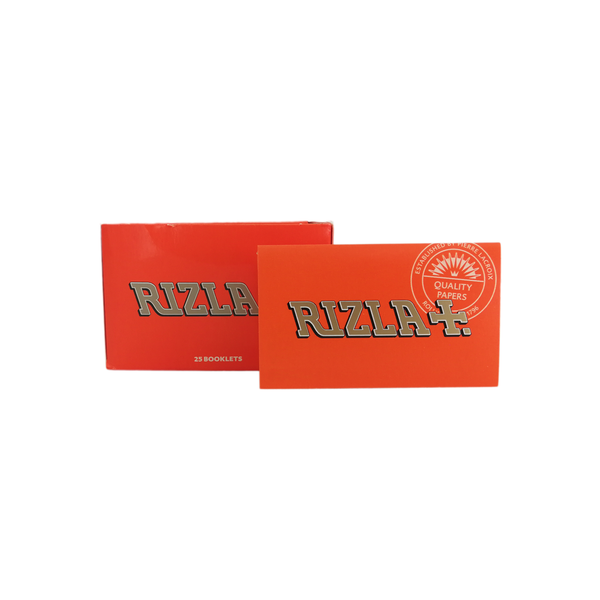 Rizla Orange - Rolling Papers (Box of 25) - The Dab Shack