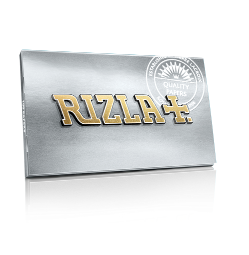 Rizla Silver - Rolling Papers (Box of 25) - The Dab Shack