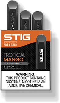STIG - Disposable Pod Device (60mg/ml) - The Dab Shack