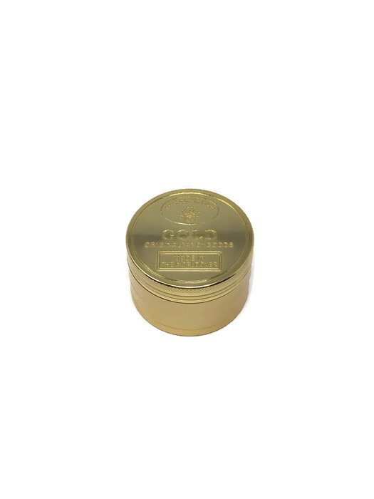Grinder 4-Part Diamond Teeth Gold (Box of 6) - DabShack Distribution