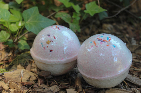 Butterfly Garden Bath Bomb with Argan Oil
