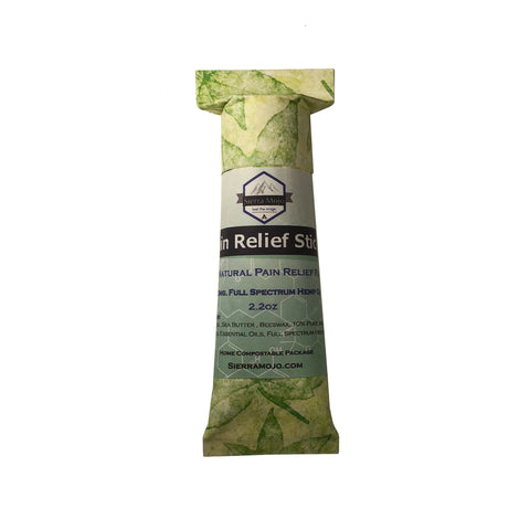 Sierra Mojo's Warming Pain Relief Rub with CBD & Menthol Crystals